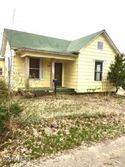 Murphysboro Single Family Home For Sale: 1907 Kennedy Street