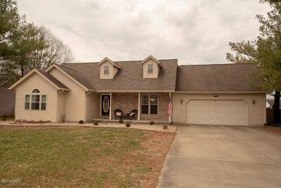 Herrin Single Family Home For Sale: 3009 Hickory Ridge Drive