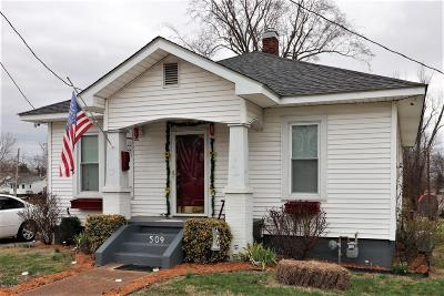 Massac County Single Family Home For Sale: 509 W 10th Street