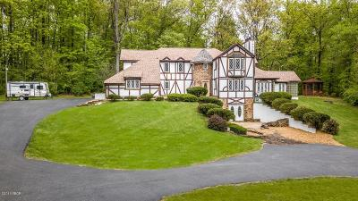 West Frankfort Single Family Home Active Contingent: 11037 Country Club Road
