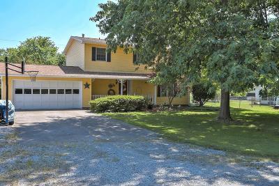 Mt. Vernon Single Family Home For Sale: 3207 Jamison Boulevard