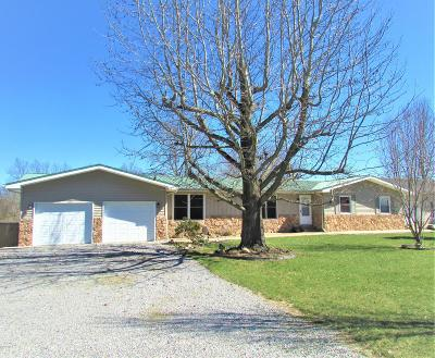 Johnston City Single Family Home Active Contingent: 13698 Prosperity Road