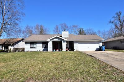 Mt. Vernon Single Family Home For Sale: 4308 Sassafras Lane