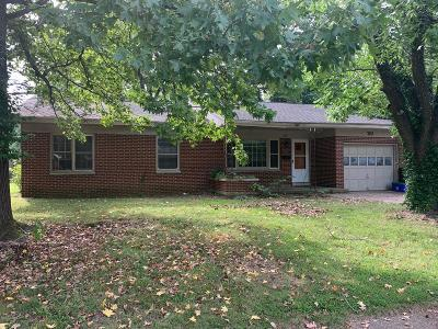 Carbondale IL Single Family Home For Sale: $94,900