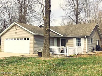Carterville Single Family Home Active Contingent: 102 Noah Lane