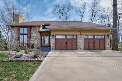 Single Family Home Active Contingent: 5986 Market Road