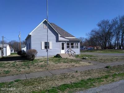 Herrin IL Single Family Home For Sale: $54,900