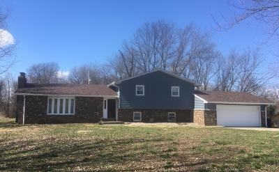 West Frankfort Single Family Home For Sale: 2947 Baseline Road