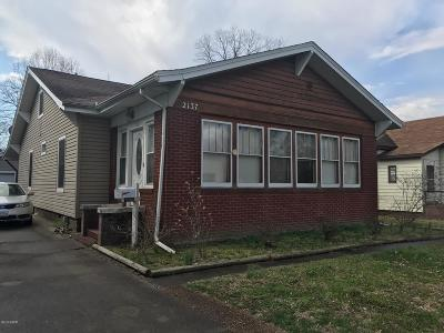 Murphysboro Single Family Home For Sale: 2137 Edith Street