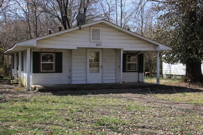 Carbondale Single Family Home For Sale: 1001 W Gher Street