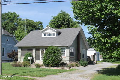Carterville Single Family Home Active Contingent: 605 S Division Street
