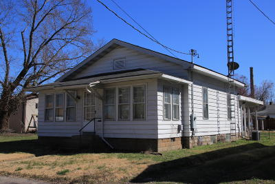 Murphysboro Single Family Home For Sale: 1821 Edith Street