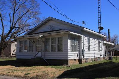 Murphysboro Single Family Home For Sale: 1821 Edith Street