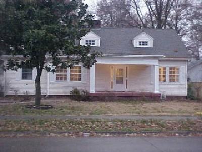 Benton Single Family Home For Sale: 110 W Hudelson Street