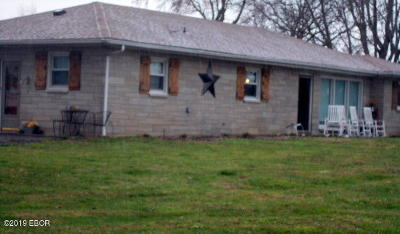 Raleigh IL Single Family Home For Sale: $125,000