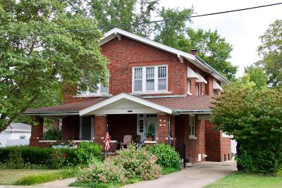 Murphysboro Single Family Home Active Contingent: 2021 Spruce Street