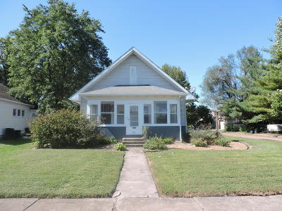 Herrin Single Family Home Active Contingent: 921 N 12th