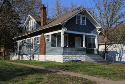 Carbondale Single Family Home For Sale: 312 W Cherry Street
