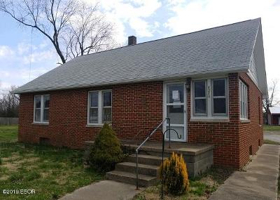 Murphysboro Single Family Home For Sale: 1210 N 7th Street