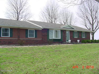 Murphysboro Single Family Home For Sale: 15920 Highway 149