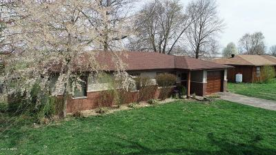 Marion Single Family Home Active Contingent: 1007 Oakwood Lane