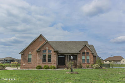 Carterville Single Family Home Active Contingent: 307 Twin Lakes Road