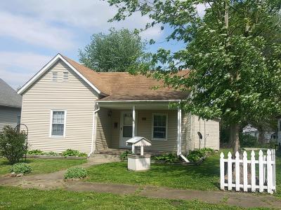Herrin Single Family Home For Sale: 316 N 21st Street