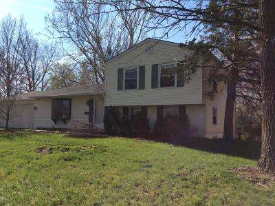 Mt. Vernon Single Family Home For Sale: 5 Circle Drive