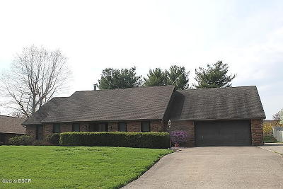 Marion Single Family Home For Sale: 1805 Wolff Drive