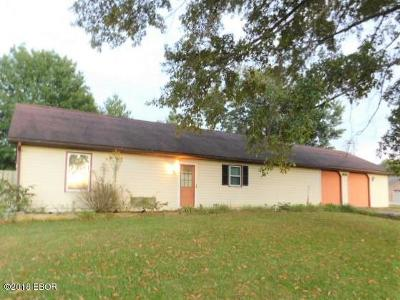 Herrin IL Single Family Home For Sale: $89,900