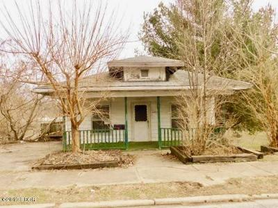 Murphysboro IL Single Family Home For Sale: $9,900
