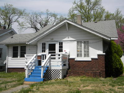 Carbondale IL Single Family Home For Sale: $69,900