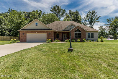 Carterville IL Single Family Home For Sale: $224,900