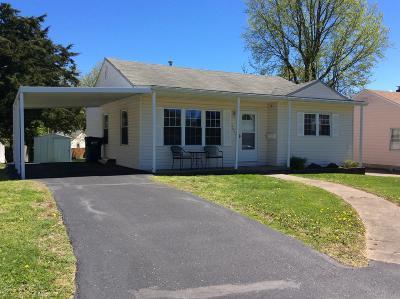 Mt. Vernon Single Family Home Active Contingent: 2813 Cherry Street