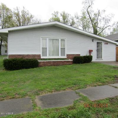 Herrin Single Family Home For Sale: 508 S 8th Street