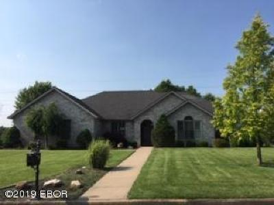 Marion Single Family Home For Sale: 2708 Turnberry Drive