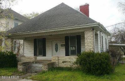 Murphysboro Single Family Home For Sale: 1916 Spruce Street