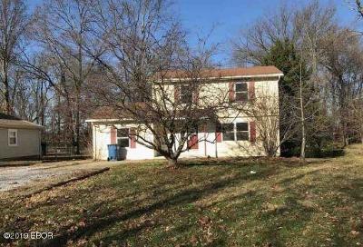 Mt. Vernon Single Family Home For Sale: 1516 Dodds Street