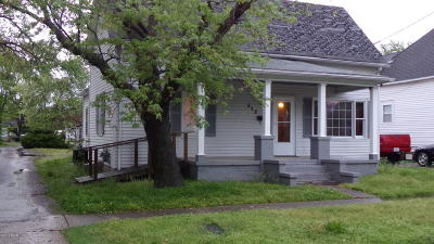 Harrisburg IL Single Family Home For Sale: $35,000