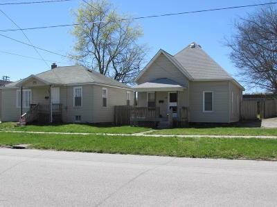 Carbondale Multi Family Home For Sale: 416 S Washington Street #1@2