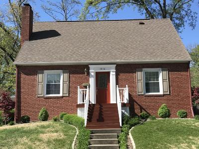 Mt. Vernon Single Family Home Active Contingent: 1814 Pace Avenue