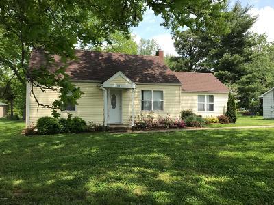 Carbondale Single Family Home For Sale: 1514 E Walnut Street