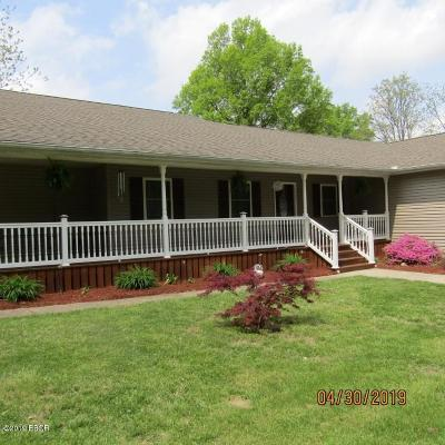 Johnston City Single Family Home Active Contingent: 14045 Binkley Road