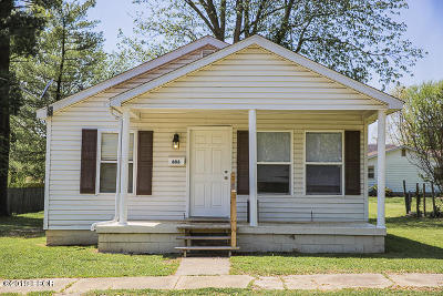 Marion Single Family Home Active Contingent: 606 N Vicksburg Street