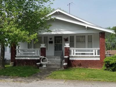 Harrisburg IL Single Family Home For Sale: $49,750