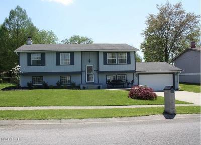 Mt. Vernon Single Family Home Active Contingent: 4313 Woodglen Lane