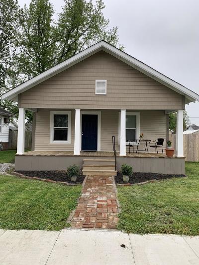 Murphysboro Single Family Home Active Contingent: 1915 Gartside