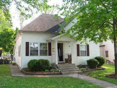Herrin Single Family Home For Sale: 704 W Madison Street
