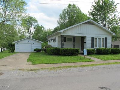 Johnston City Single Family Home For Sale: 613 W Fifth Street