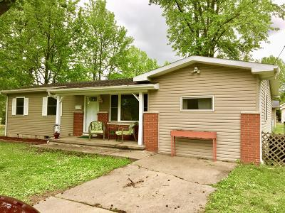 Herrin IL Single Family Home For Sale: $92,000
